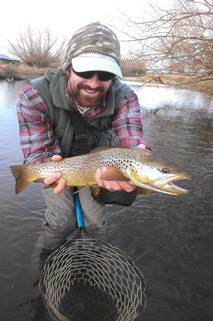 Fly Fishing Guide Aaron Bonsall