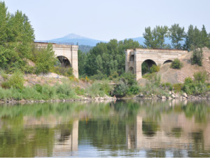 Arches on the Clark Fork River Fly Fishing Trip