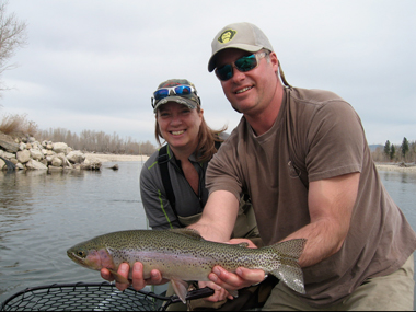 Fly Fishing Trips for Rainbow Trout on the Bitterroot River