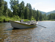 Bitterroot River Fly Fishing Guide Boat