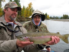 Custom Guided Fly Fishing Trips on the Bitterroot River