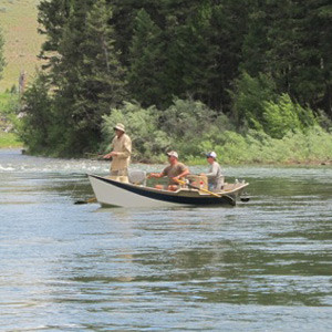 Fly Fishing Trips with CCO start with well equipped guides.