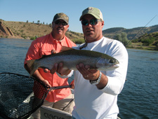 Missouri River Fly Fishing - Rainbow Trout