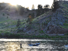 Guided Fly Fishing Wade Trips available on most rivers