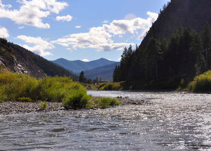 Blackfoot River Outfitters Fly Fishing Scenery