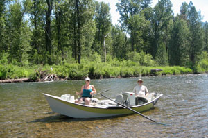 Guided Fly Fishing Trips especially for couples!