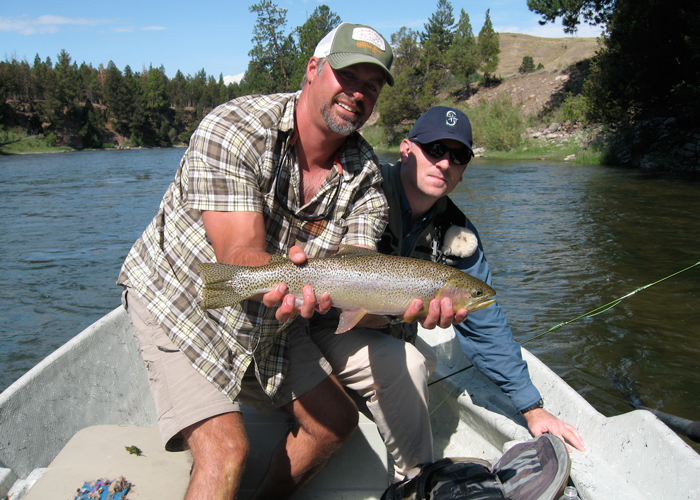 Bitterroot river fly fishing guides clear creek outfitters for Clear creek fishing report