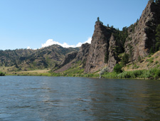 Missouri River Cliffs